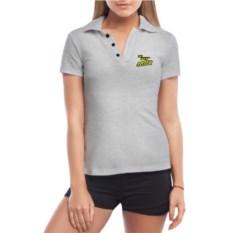 Женская футболка-поло The best