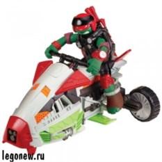 Игрушка Turtles Вездеход-аэроглиссер с фигуркой Рафа