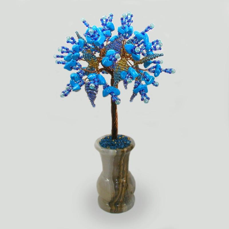 Дерево из бирюзы Семейное счастье