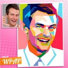 Портрет по фото в стиле WRAP