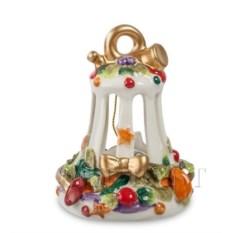 Колокольчик из фарфора Рождество Pavone