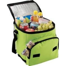 Салатовая сумка-холодильник Disemble