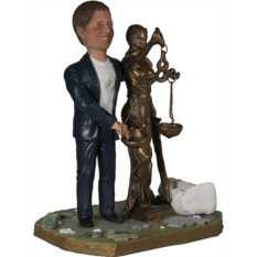 Подарок юристу по фото Жрец Фемиды 30 см