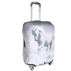 Большой чехол для чемодана Белый конь