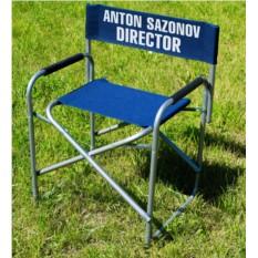 Именной стул Режиссерский