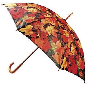 Зонт-трость «Золотые листья»