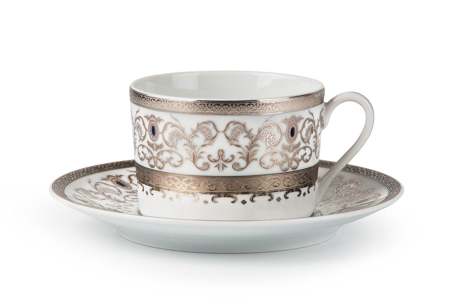 Фарфоровый набор чайных пар на 6 персон MIMOSA MIMOSA