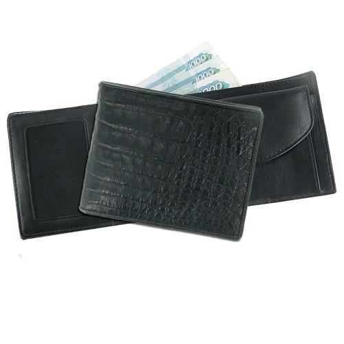 Мужской кошелек из кожи каймана Аксессуар для влюбленных в стиль