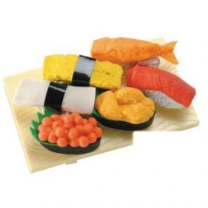 Набор ластиков Sushi