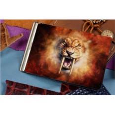 Зажим для денег с принтом Саблезубый лев