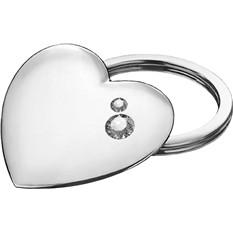 Брелок «Платиновое сердце»