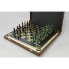 Сувенирные металлические шахматы Наполеон