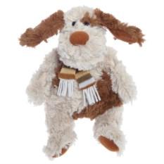 Мягконабивная игрушка Собака с шарфиком