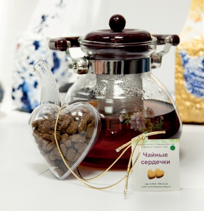 Чайный набор Сердечки