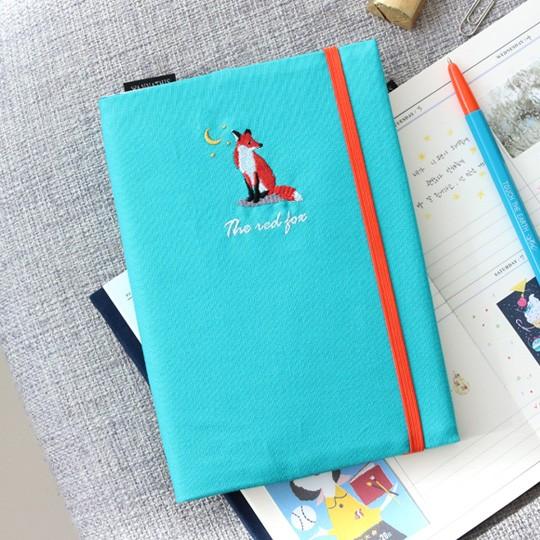 Ежедневник с вышивкой Tailor Bird. Fox