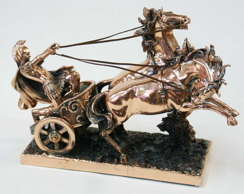 Статуэтка Рыцарь на колеснице