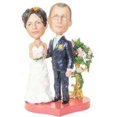 Статуэтка по фото на свадебное событие«Свадебная композиция»
