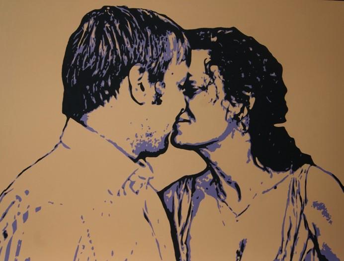 Поп-арт портрет 60х80 см