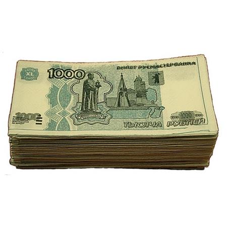 Салфетки «Пачка 1000 руб.»