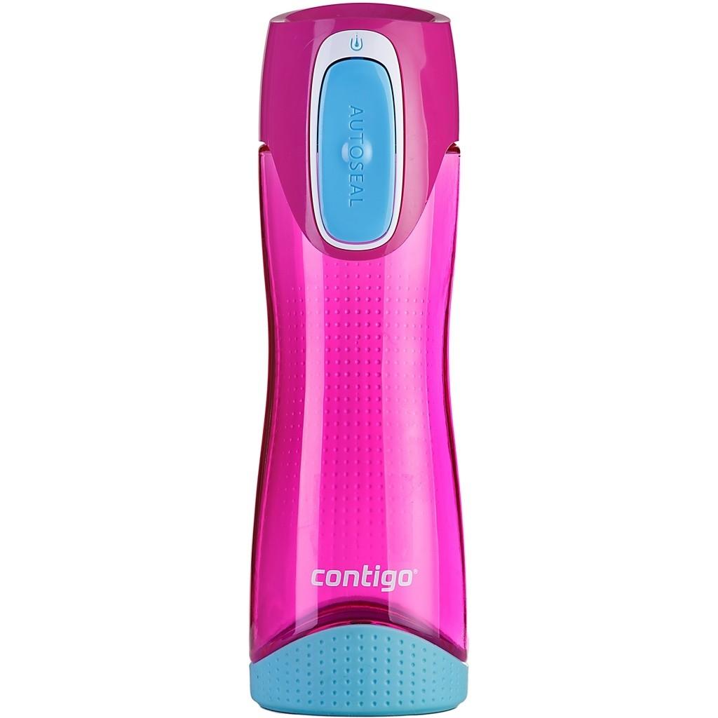 Спортивная бутылка для питья Swish (цвет — розовый)