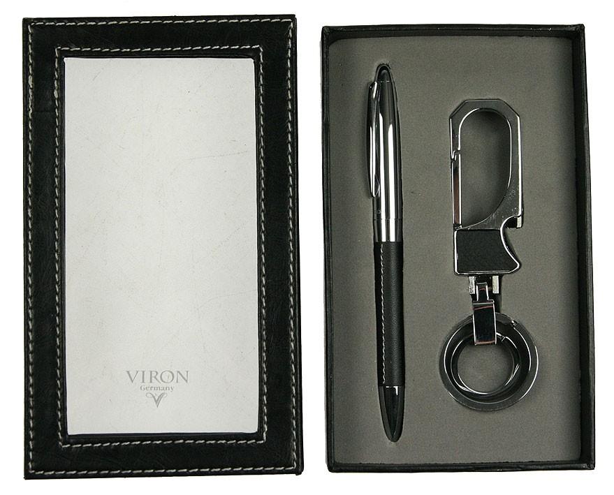 Подарочный набор VIRON из ключницы и брелка-открывалки