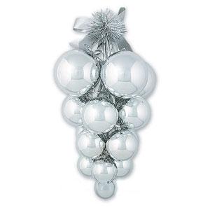 Гроздь из 17 шаров с лентой от Mister Christmas