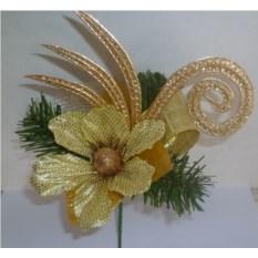 Декоративное украшение Рождественское, длина 18 см