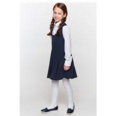 Темно-синее платье с длинными рукавами Overmoon Bernis