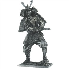 Самурай хватается за меч, 12 век