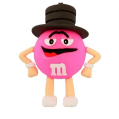Флешка M&M`s (розовый)