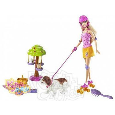 Игровой набор Барби Прогулка в парке