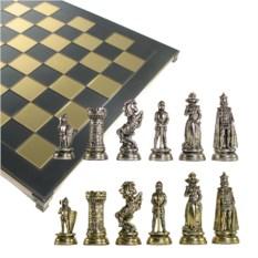 Металлический шахматный набор Мария Стюарт
