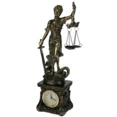 Часы настольные Греческая богиня правосудия – Фемида