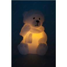 Светодиодная свеча Мишка
