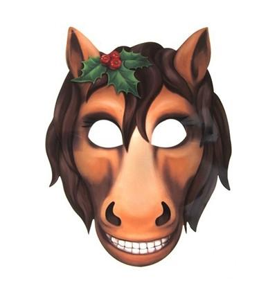 Как сделать маску лошадь своими руками