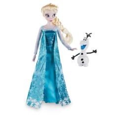Базовая кукла Disney Эльза с питомцем, Холодное сердце