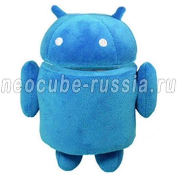 Синяя мягкая игрушка Android