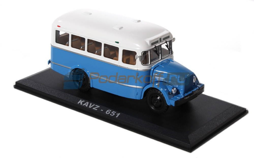 Коллекционная модель автобуса КАвЗ-651
