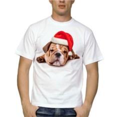 Мужская футболка Бульдог