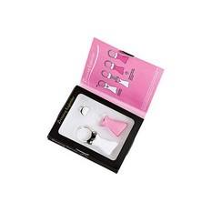 Женский брелок для ключей со сменными декоративными насадками