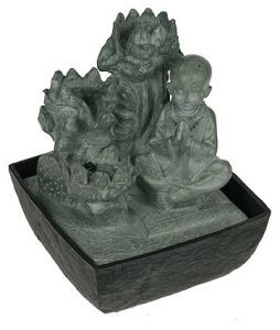 Фонтан декоративный Будда, с подсветкой