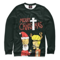 Мужской свитшот Merry Christmas