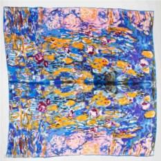 Платок Кувшинки по картине Клода Моне
