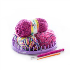 Набор для вязания Cra-Z-Knitz Стильная шапка-колпак
