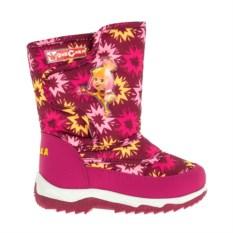 Розовые сноубутсы для девочек Фиксики