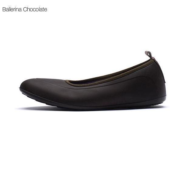 Галоши Swims Ballerina, коричневые