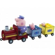 Игровой набор «Паровозик дедушки Пеппы» со звуком, Peppa Pig