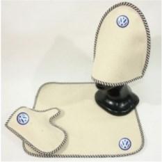 Комплект для бани с логотипом Volkswagen