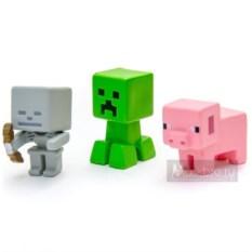 Набор пластиковых фигурок Mattel: Крипер, Гаст, свинья