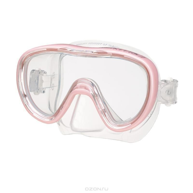 Маска для плавания Tusa Kleio II, розовая
